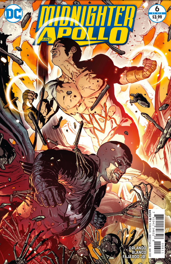 Midnighter just kicked Nero's butt who is basically the devil himself. Unfortunately for him that didn't last long and now it's his butt that's being kicked. This issue wraps up the latest story arc--is it good?