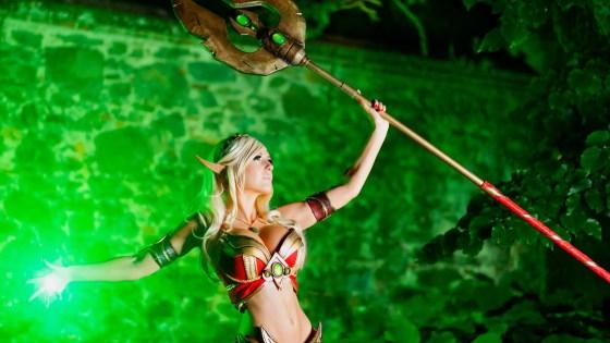 World of Warcraft: Blood Elf Cosplay by Jessica Nigri