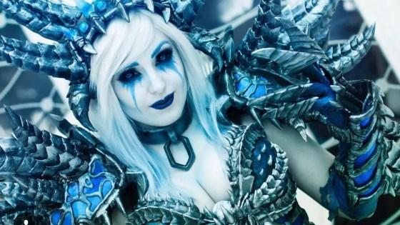World of Warcraft: Sindragosa Cosplay by Jessica Nigri