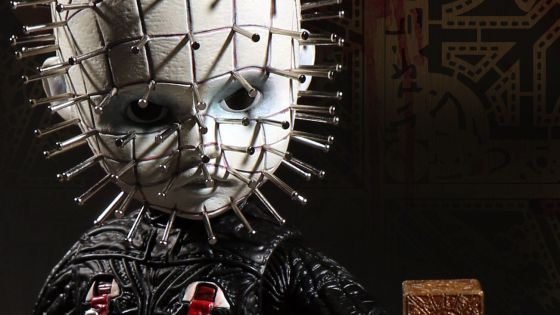 In 1987, Clive Barker introduced the world to sadomasochist demons from hell in his movie, Hellraiser. The leader of the Cenobites, as they are named, is Pinhead; a black pupiled, pale skin demon with a nail spiked skull. In the video below, we review the Living Dead Dolls Hellraiser III Pinhead doll; let's see if they have captured his disturbing nature.