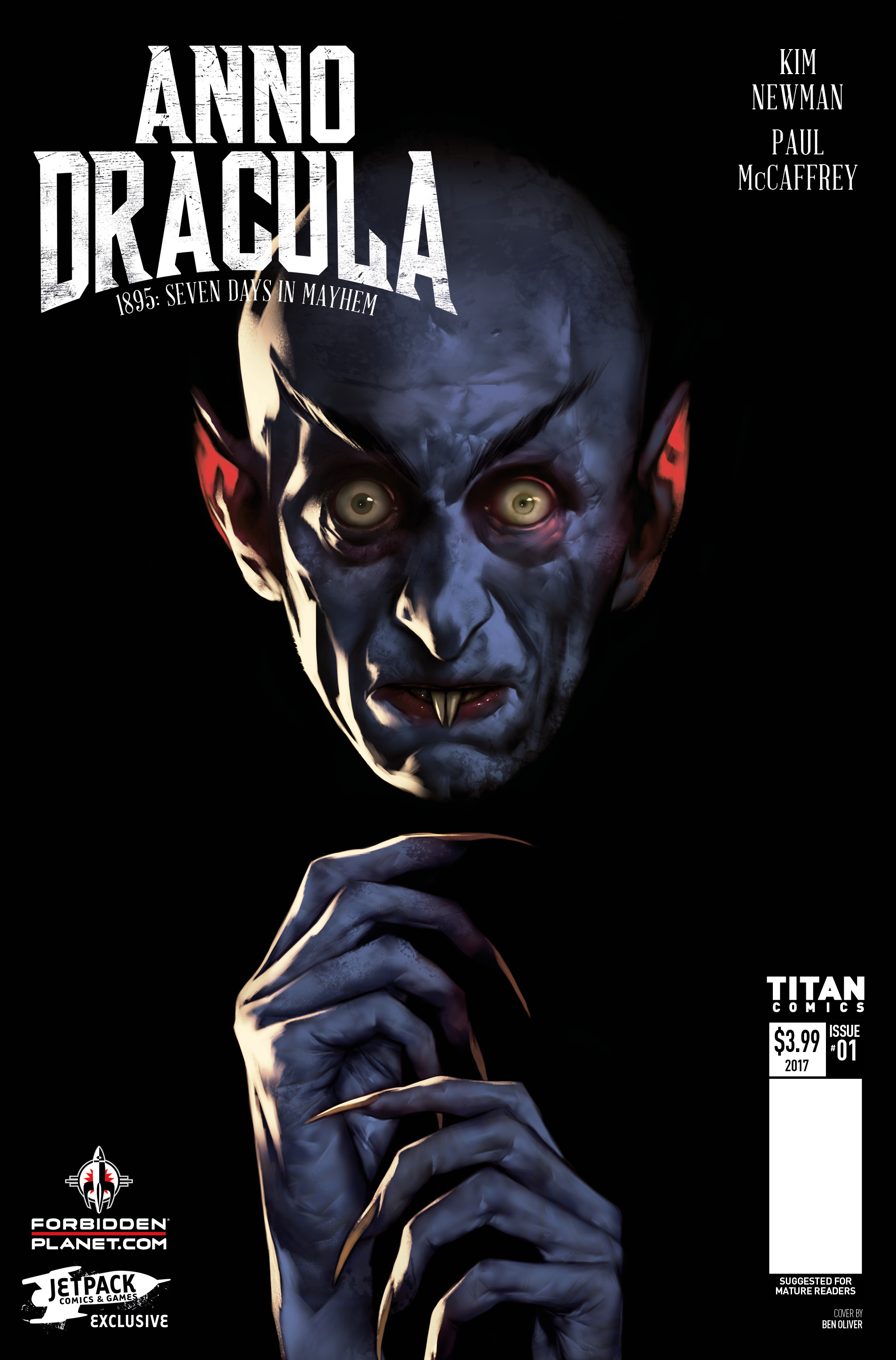 Anno Dracula 1895: Seven Days In Mayhem #1 Review