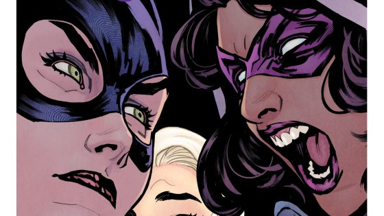 "The Birds of Prey returned to their original line-up for DC Comics' Rebirth event, with Batgirl leading Huntress and Black Canary on a mission to find out who the new ""Oracle"" really is. The first story arc for Batgirl and the Birds of Prey, ""Who Is Oracle?,"" took up the first six issues of the series, with sisters Julie and Shawna Benson (The 100) writing. The arc takes a while to get going, but gets better once the team's members slide into their proper roles and get in a groove."