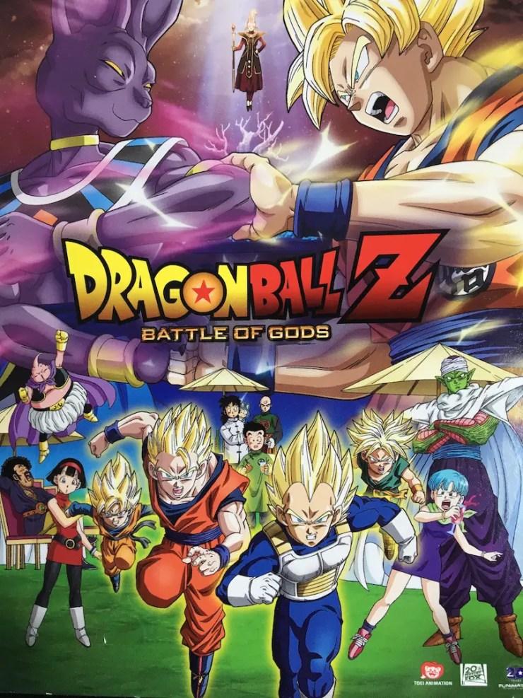 Battle of Gods DVD cover
