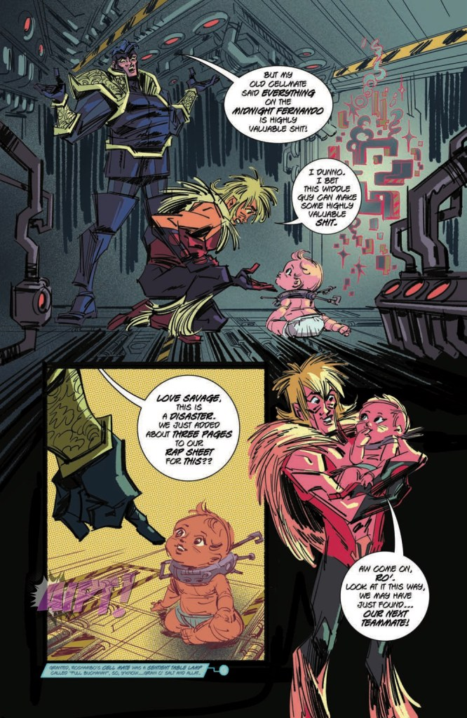 [EXCLUSIVE] IDW Preview: Cosmic Scoundrels #2