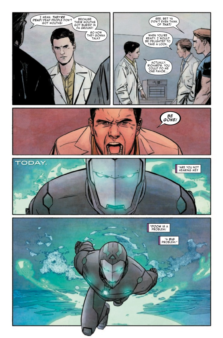 Infamous Iron Man #6 Review
