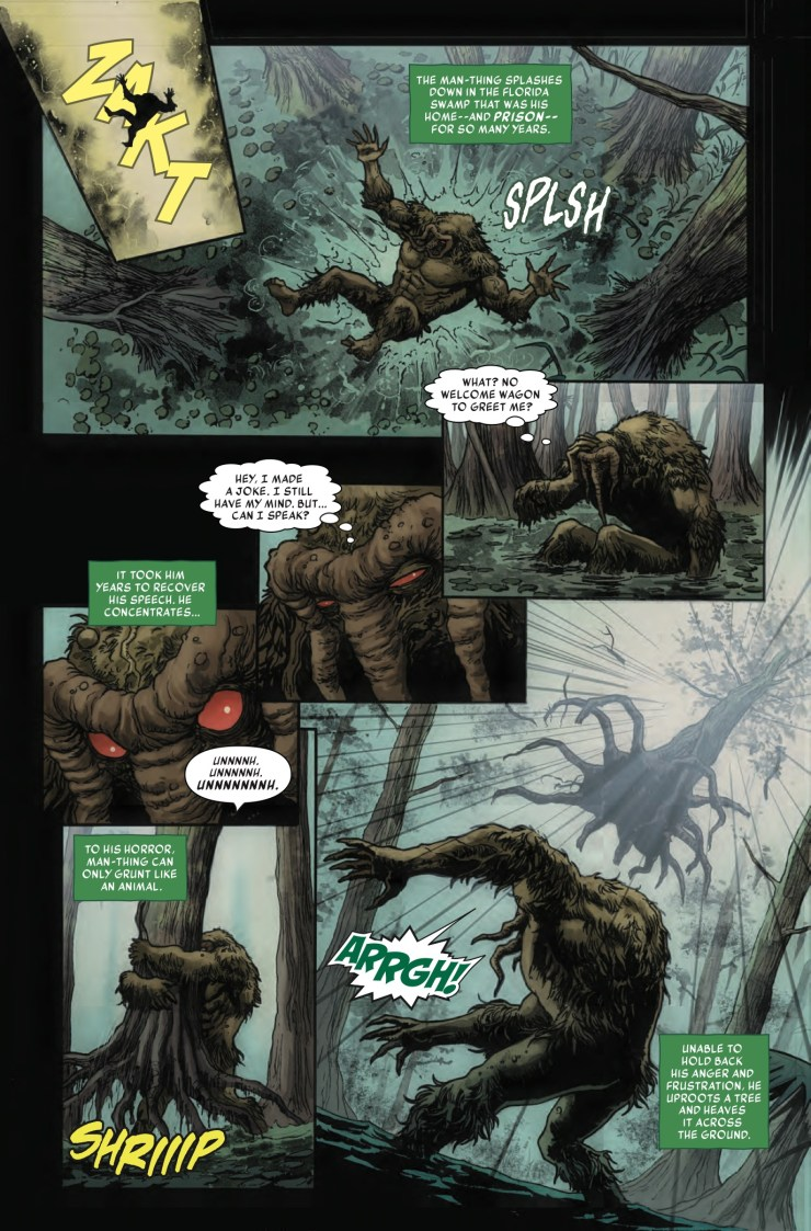 Marvel Preview: Man-Thing #2
