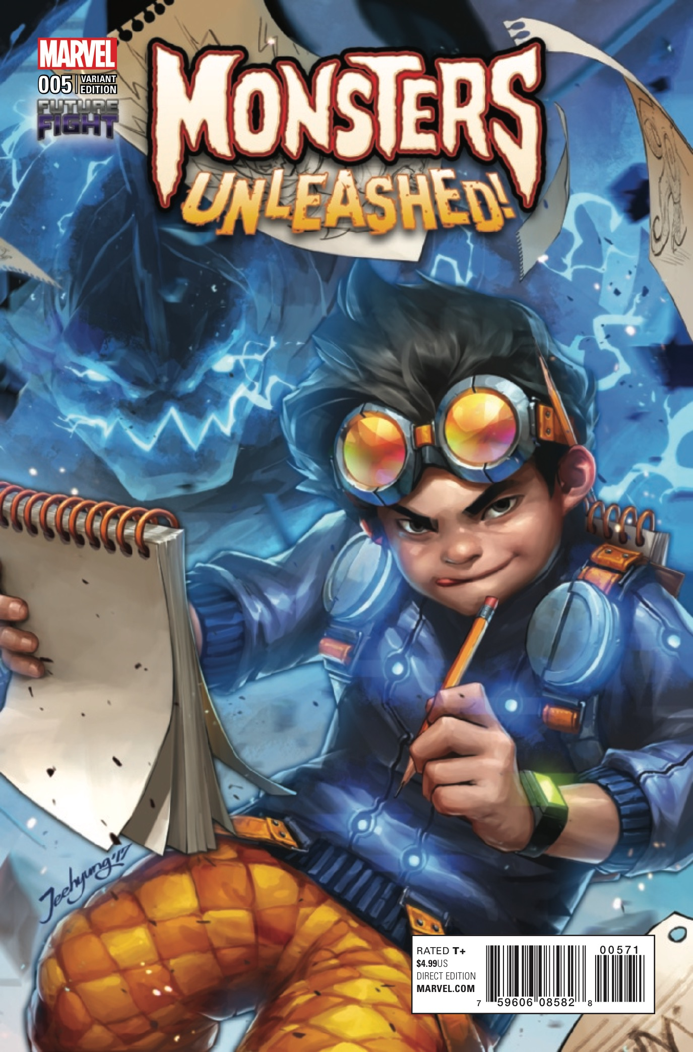 Monsters Unleashed #5 Review