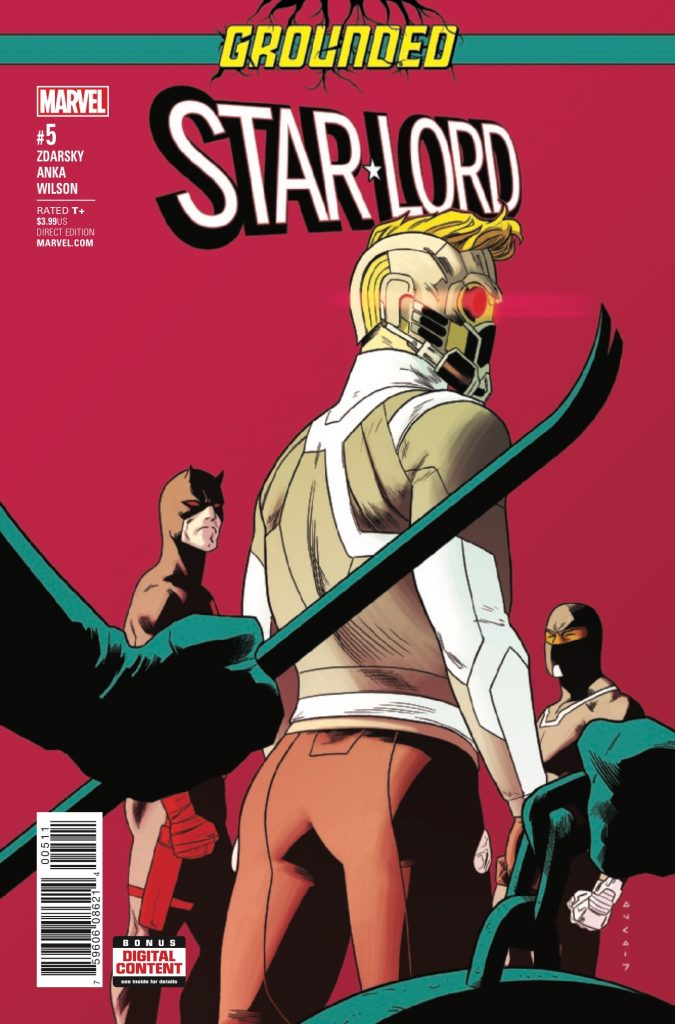 Star-Lord's adventures on Earth with Edmund Allen (formerly the Silver Bandit) continue as the two men pull off a heist. Does this issue have the same charm that has defined the series thus far?