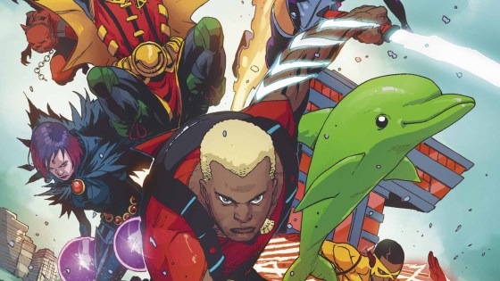 Teen Titans begins its second story arc with some team bonding, as well as the introduction of Aqualad. How are things shaping up?