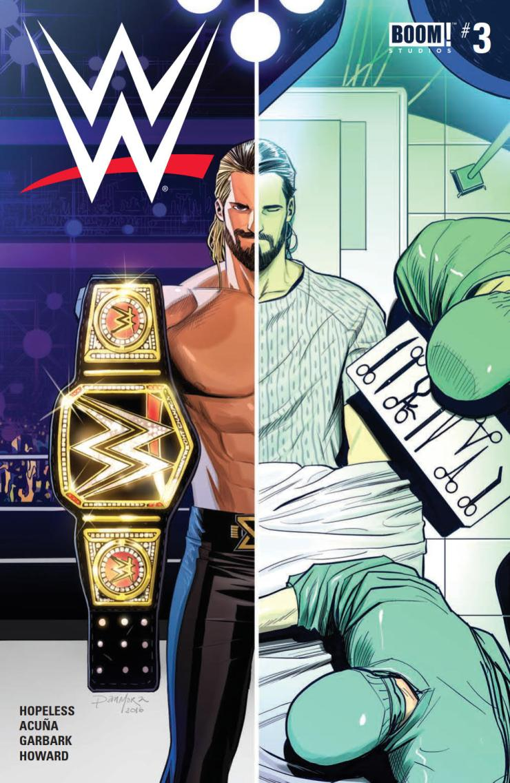 Seth Rollins was on top of the world. He took a gamble and it paid off in a big way, resulting in the WWE World Heavyweight Championship. However, as it has a funny way of doing, life eventually brought him crashing back down to reality with a debilitating knee injury. In the blink of an eye, all he had worked and sacrificed for is gone. Now, three words consume Rollins' life: Redesign. Rebuild. Reclaim.