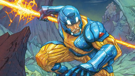 So often in comics, stories peer into the person underneath the costume and powers to show they deserve the responsibility of their status as hero. It's not only a way to show the reader what they're made of, but to show not anybody can be Spider-Man or Wolverine even if given their abilities. With this new look at X-O Manowar it looks like writer Matt Kindt is doing just that, but is it good?