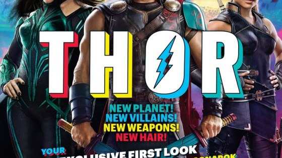 Earlier today, we got ourfirst look at official set photos for Thor: Ragnarok in Entertainment Weekly. Minutes later, our minds exploded. Not because they're all that revealing, but because they start to paint a picture ofwhat this film is going for. Let's delve into each shot while we try to make sense of these tasty images...