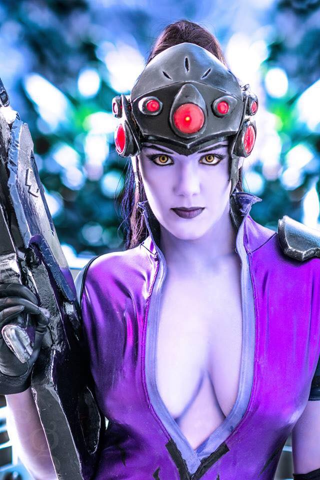Overwatch: Widowmaker Cosplay by Reilena