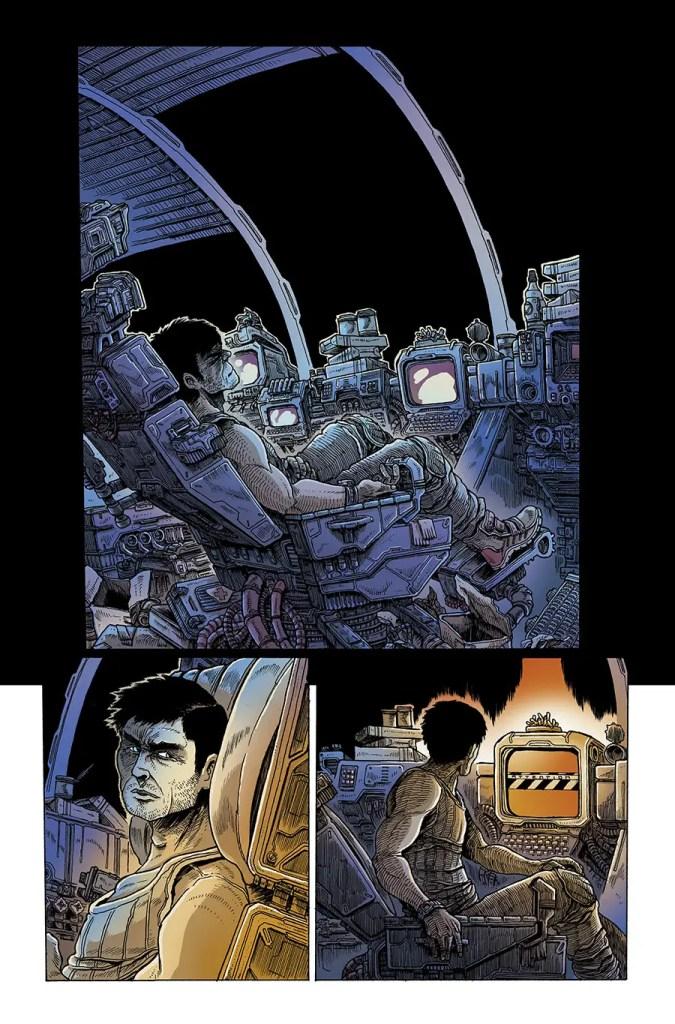 Dark Horse Preview: Aliens: Dead Orbit #1