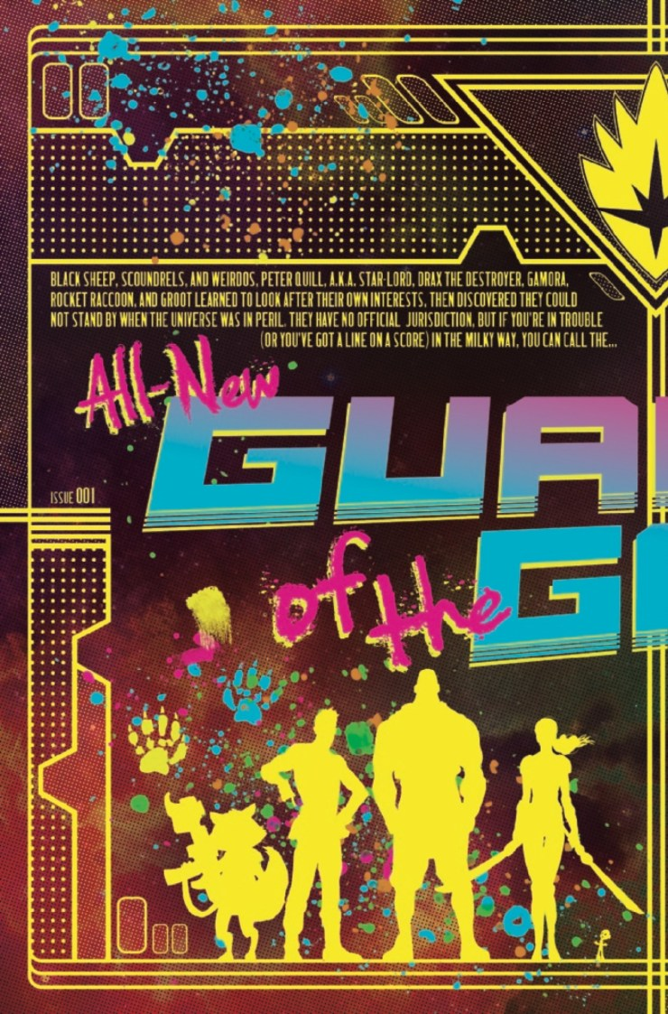 Marvel Preview: All-New Guardians of the Galaxy #1