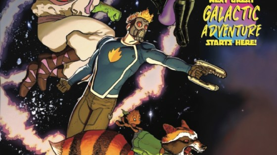 It's Guardians of the Galaxy week and you know how I know that? Marvel is publishing three Guardians books. Oh, and there's the big movie sequel too. After our press call with Marvel on this very book we learned this series is all about being weird and fun. Sounds good to me!