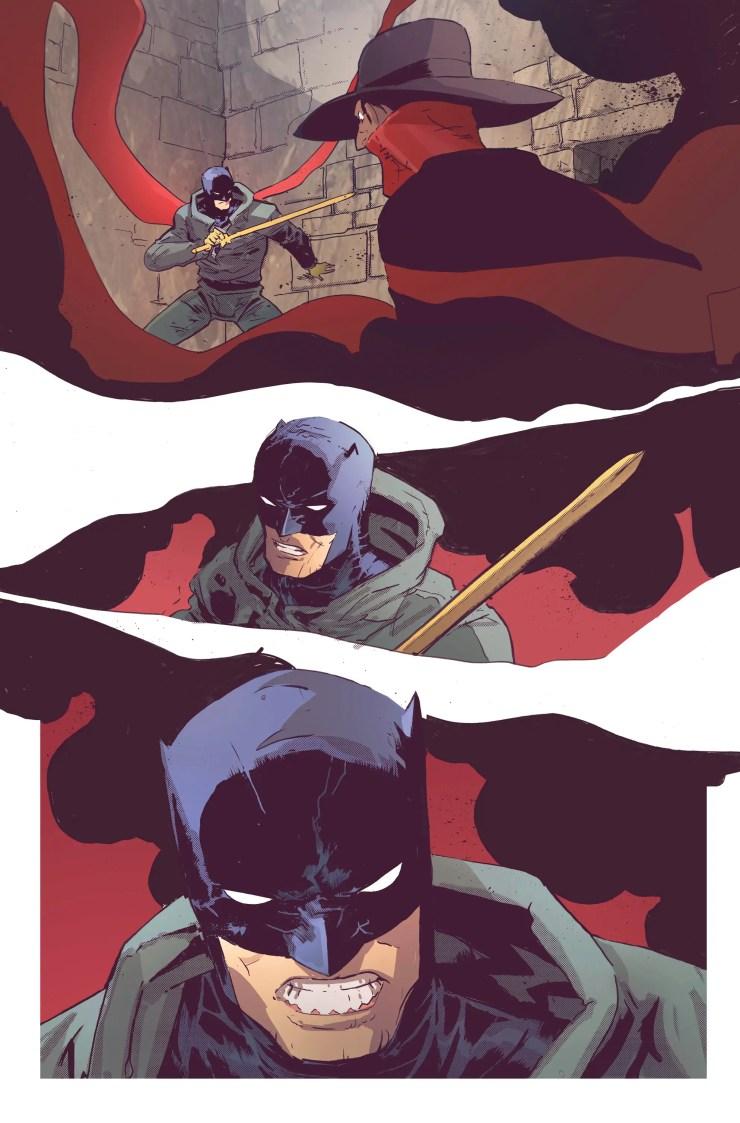 DC/Dynamite Preview: Batman/The Shadow #2