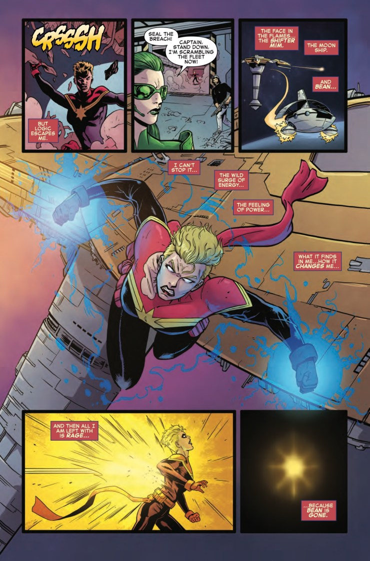 Marvel Preview: The Mighty Captain Marvel #4