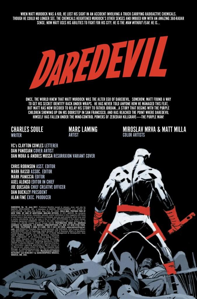 Marvel Preview: Daredevil #19