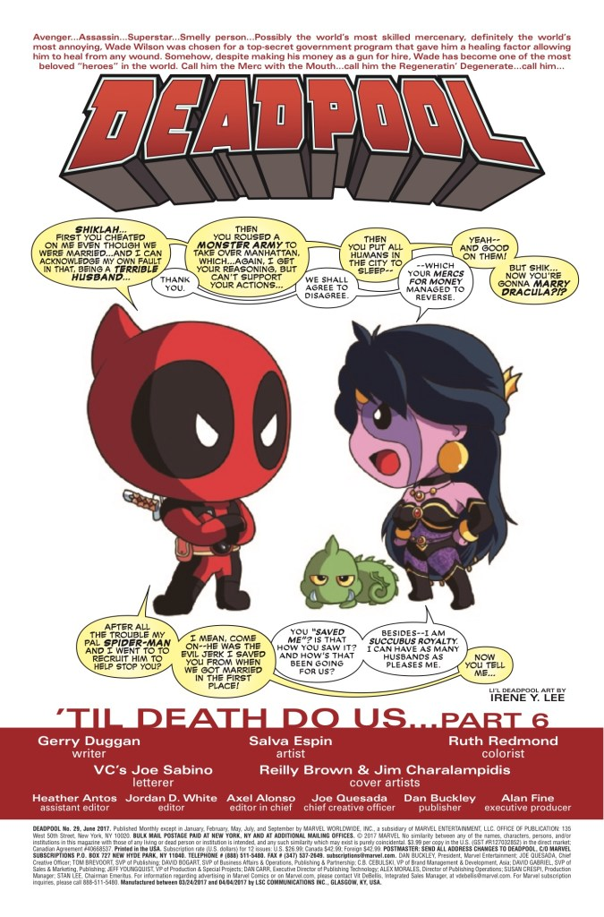 Marvel Preview: Deadpool #29