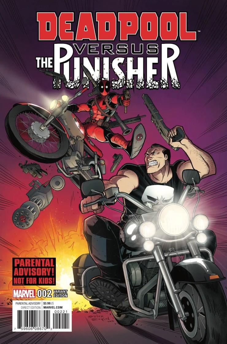 Marvel Preview: Deadpool vs. The Punisher #2