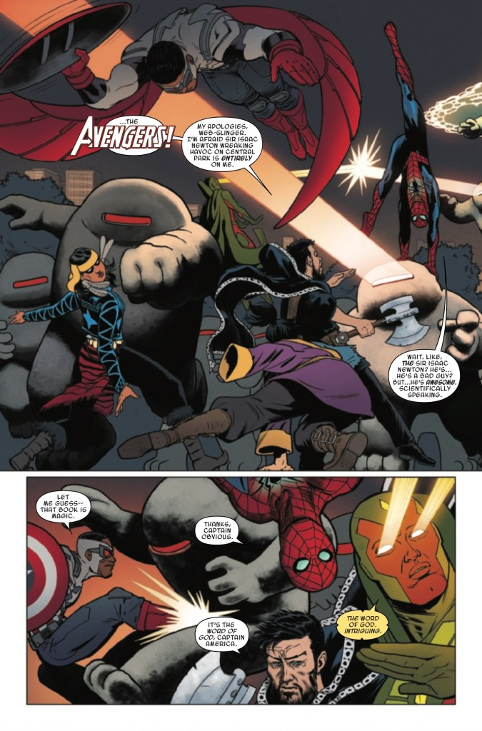 Marvel Preview: Doctor Strange and the Sorcerers Supreme #7