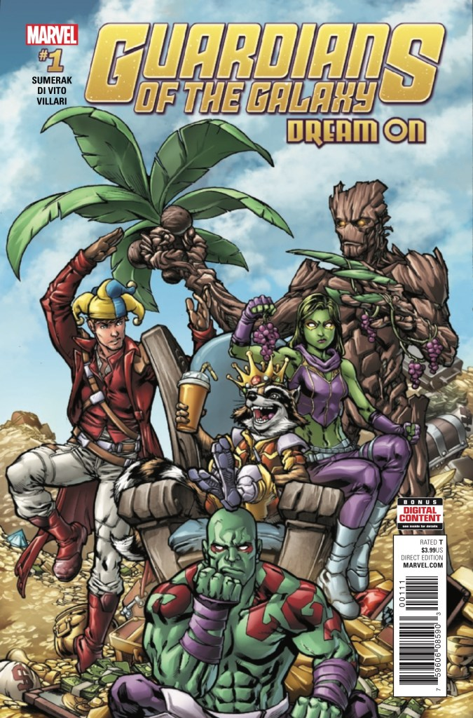 Marvel Preview: Guardians of the Galaxy Dream On #1