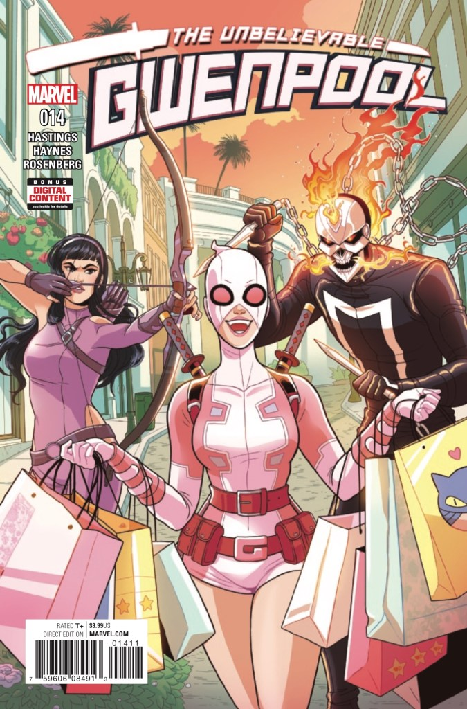 Marvel Preview: Gwenpool, The Unbelievable #14