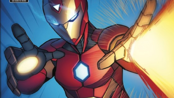 Riri Williams' first arc as the Invincible Iron Ma--err, the Invincible Ironheart comes to an end in Invincible Iron Man #6 by writer Brian Michael Bendis and artist Stefano Caselli. But just because it's the end of an arc doesn't mean Riri's life is getting any easier. In true Marvel fashion, the young superhero's life will only get more complicated in this series' second arc.