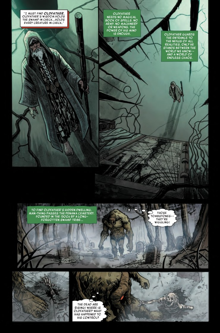 Marvel Preview: Man-Thing #3