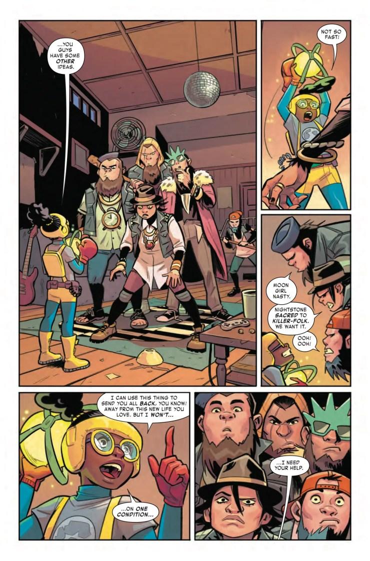 Marvel Preview: Moon Girl and Devil Dinosaur #18