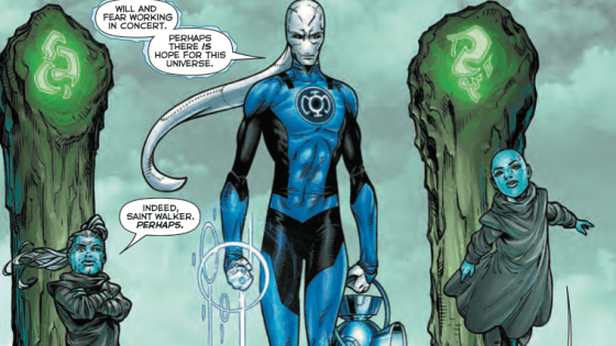 Gather 'round friends, it's new story arc time! Green Lanterns, Yellow Lanterns, the last Guardians of the galaxy and a lone Blue Lantern are all one big happy dysfunctional family in Robert Venditti's epic space cop adventure. So let's dive in and find out, is it good?
