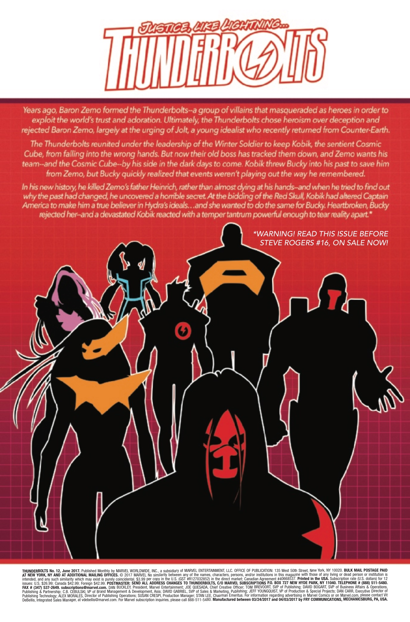 Thunderbolts #12 Review