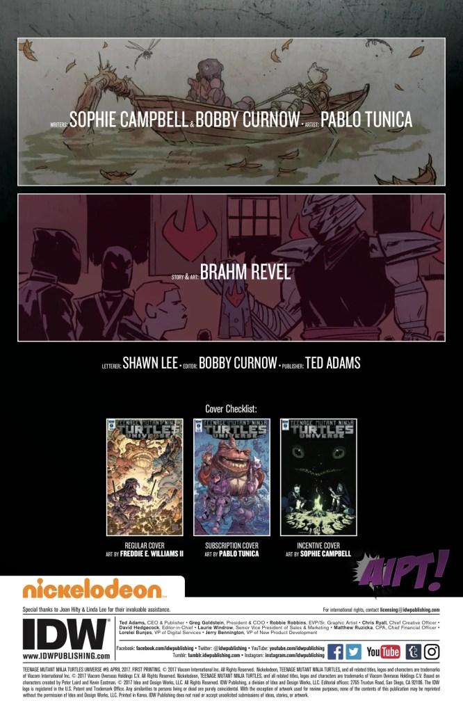 [EXCLUSIVE] IDW Preview: Teenage Mutant Ninja Turtles Universe #9