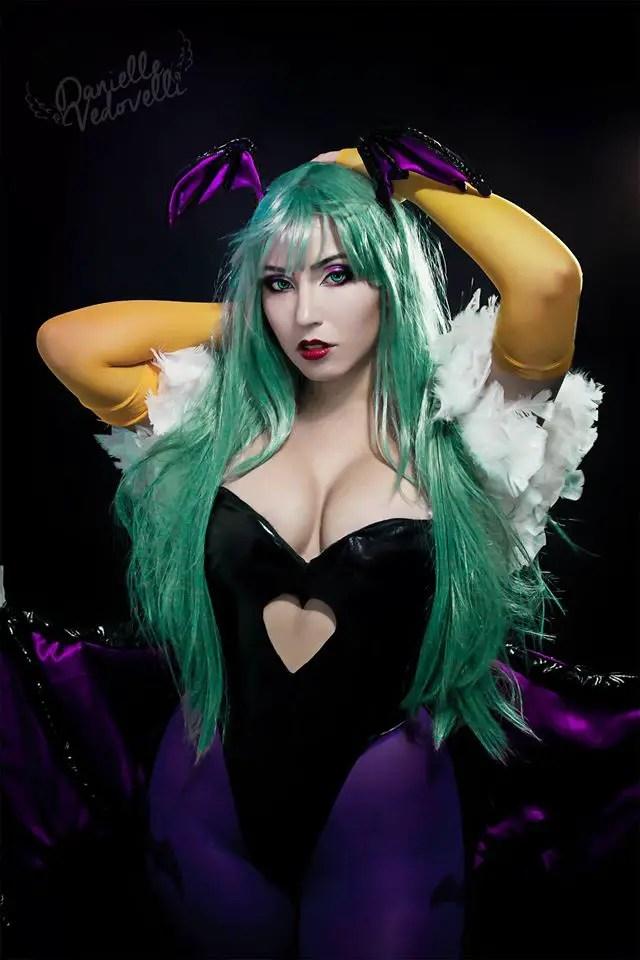 Darkstalkers: Morrigan Cosplay by Danielle Vedovelli