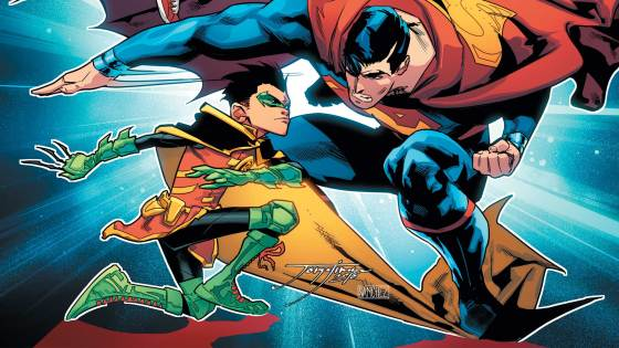 One could argue only Jon is super in this duo of Super Sons, but they probably haven't seen Damian take down a 300-pound baddy! We review the third issue as the kids take on their parents with fists, but is it good?