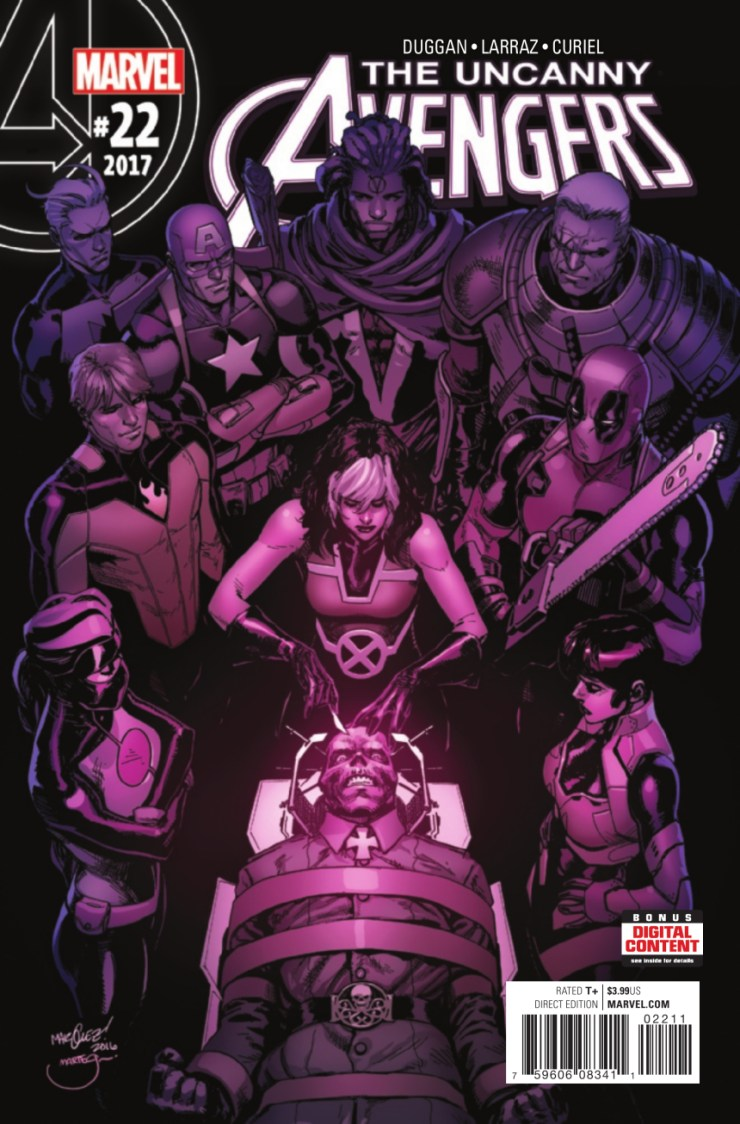 With the Red Skull defeated and the Unity squad (mostly) intact, Rogue is left to pick up the pieces - specifically the piece of Xavier's brain that made the Skull a telepathic monster. When Captain HydrAmerica shows up to confiscate the biological WMD, how will Rogue react?