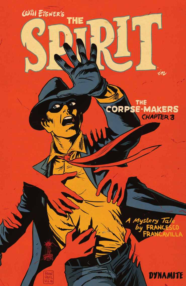 Will Eisner's The Spirit: The Corpse-Makers #3 Review
