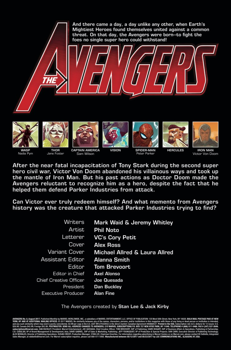 Marvel Preview: Avengers #8