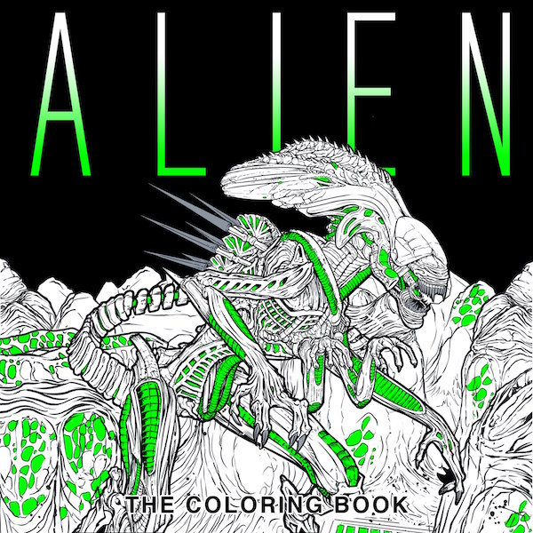 Alien: The Coloring Book Review