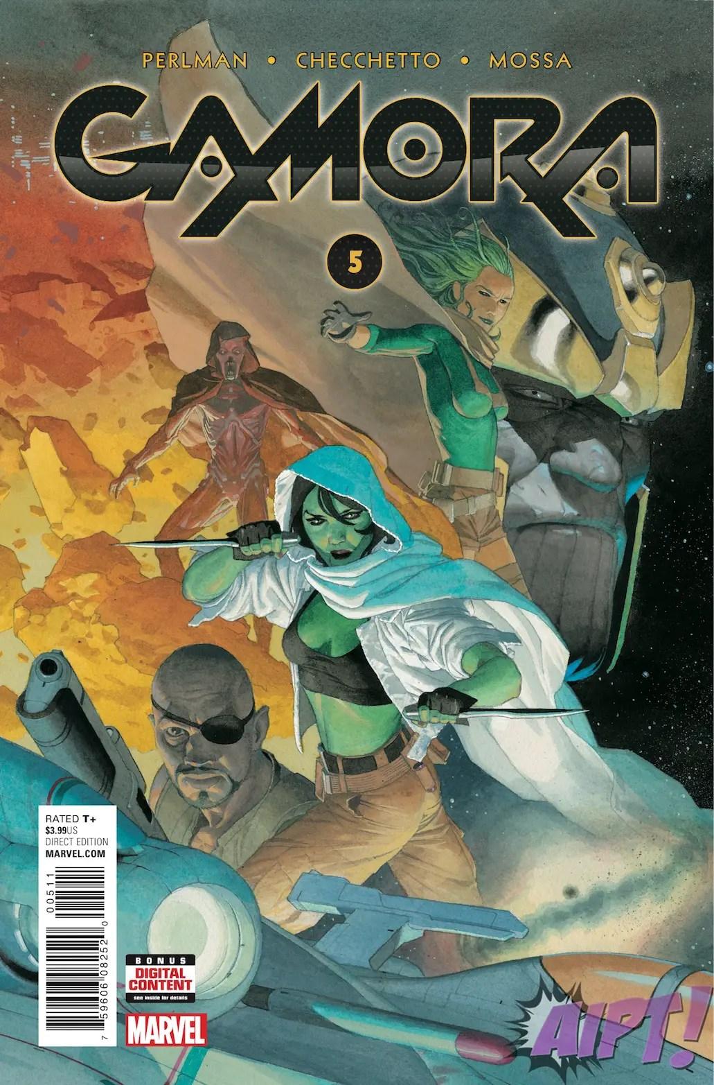 Gamora #5 Review