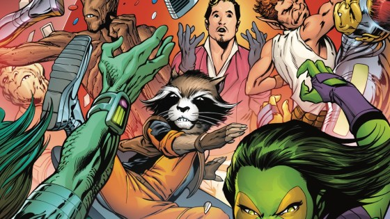 <p>GUARDIANS OF THE GALAXY: MOTHER ENTROPY #3 (of 5) JIM STARLIN (W) • ALAN DAVIS (A/C) • Mother Entropy's final test involves, what else, a no-holds-barred brawl at Starlin's Bar. But this is a battle like no other the Guardians have ever fought. 32 PGS./Rated T …$3.99</p>