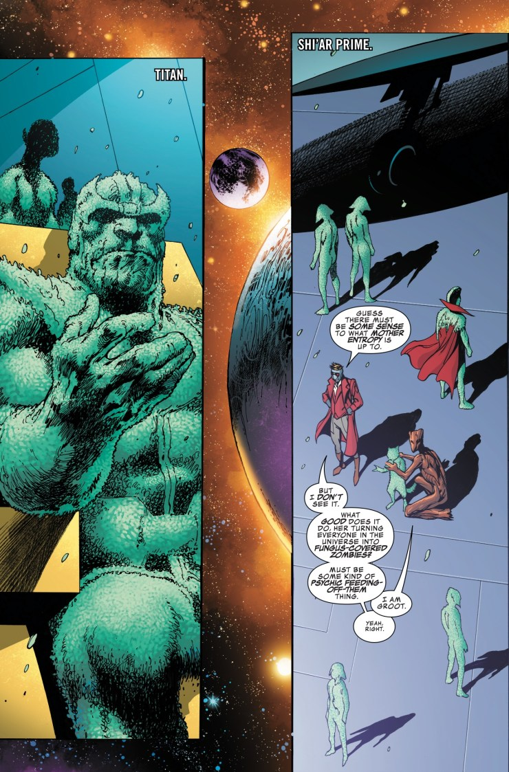 Marvel Preview: Guardians of the Galaxy: Mother Entropy #5