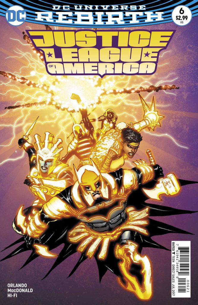 Justice League of America #6 Review