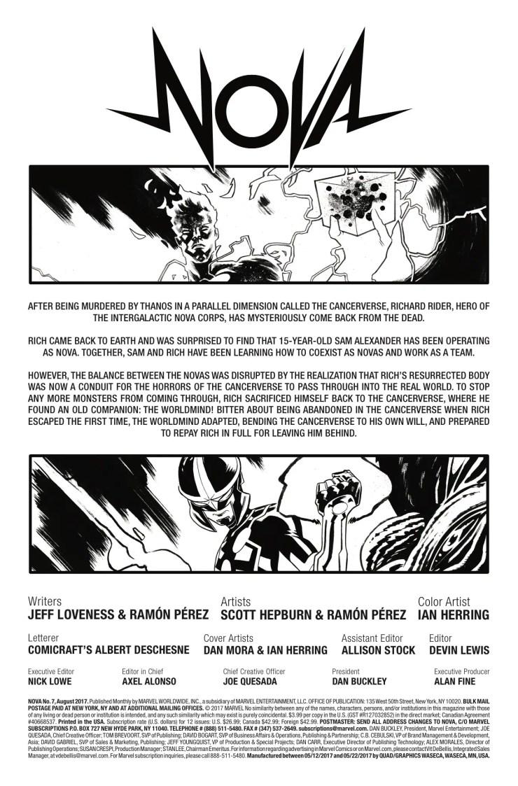 Marvel Preview: Nova #7