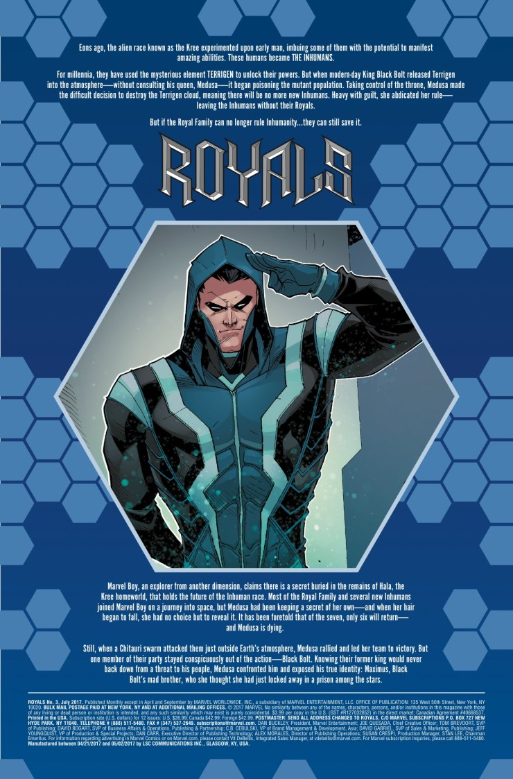 Marvel Preview: Royals #3