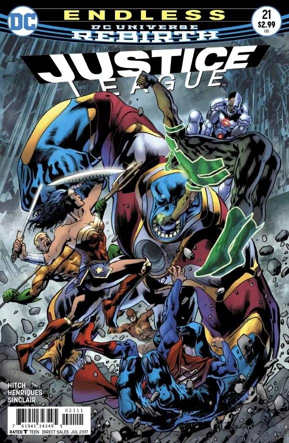 Justice League #21 Review