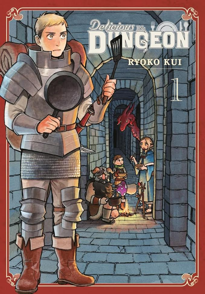 Delicious in Dungeon Vol. 1 Review