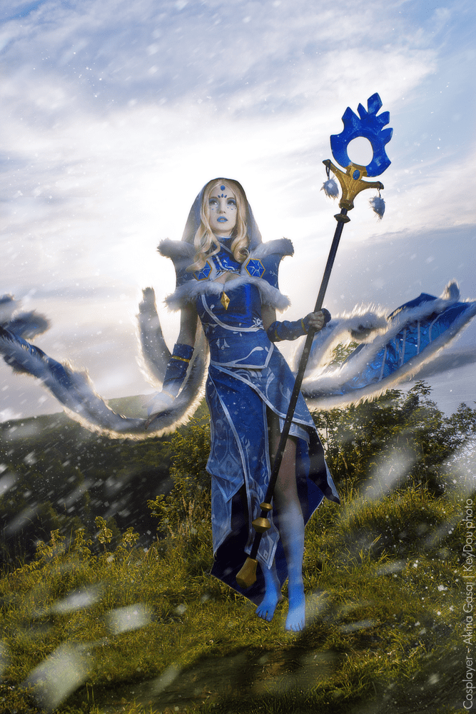 Dota 2: Crystal Maiden Cosplay by Akina Gasai