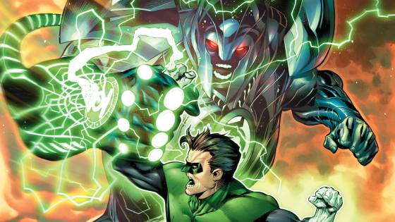 """""""Prism of Time"""" Part 3 continues as Hal Jordan and the Green and Yellow Lantern Corps defend Mogo and themselves from the mysterious beasts from the future. The issue is a lot more action packed than some of the previous issues."""